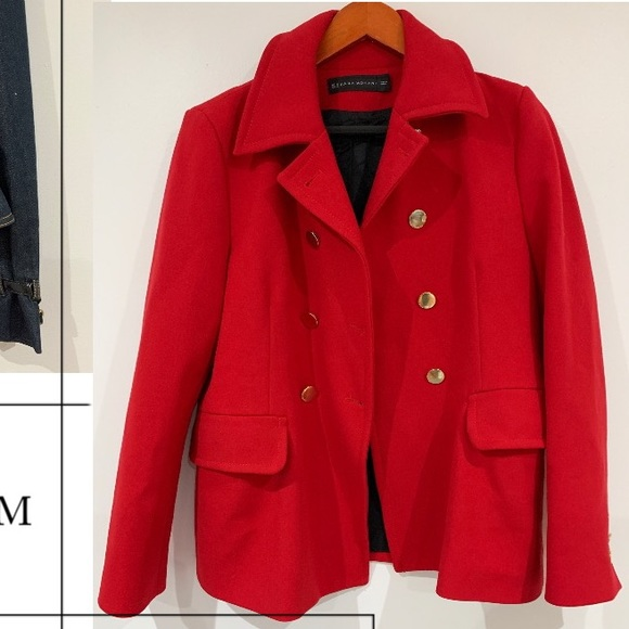 Red Stylish Zara Blazer/Jacket